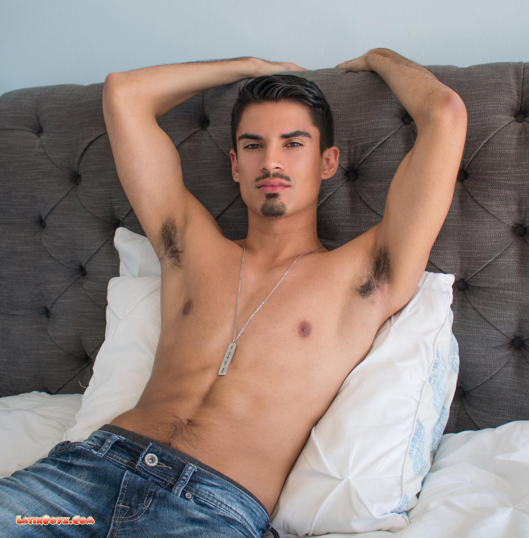 Hung Naked Latino Men Reyes - Male Latino Models-6745
