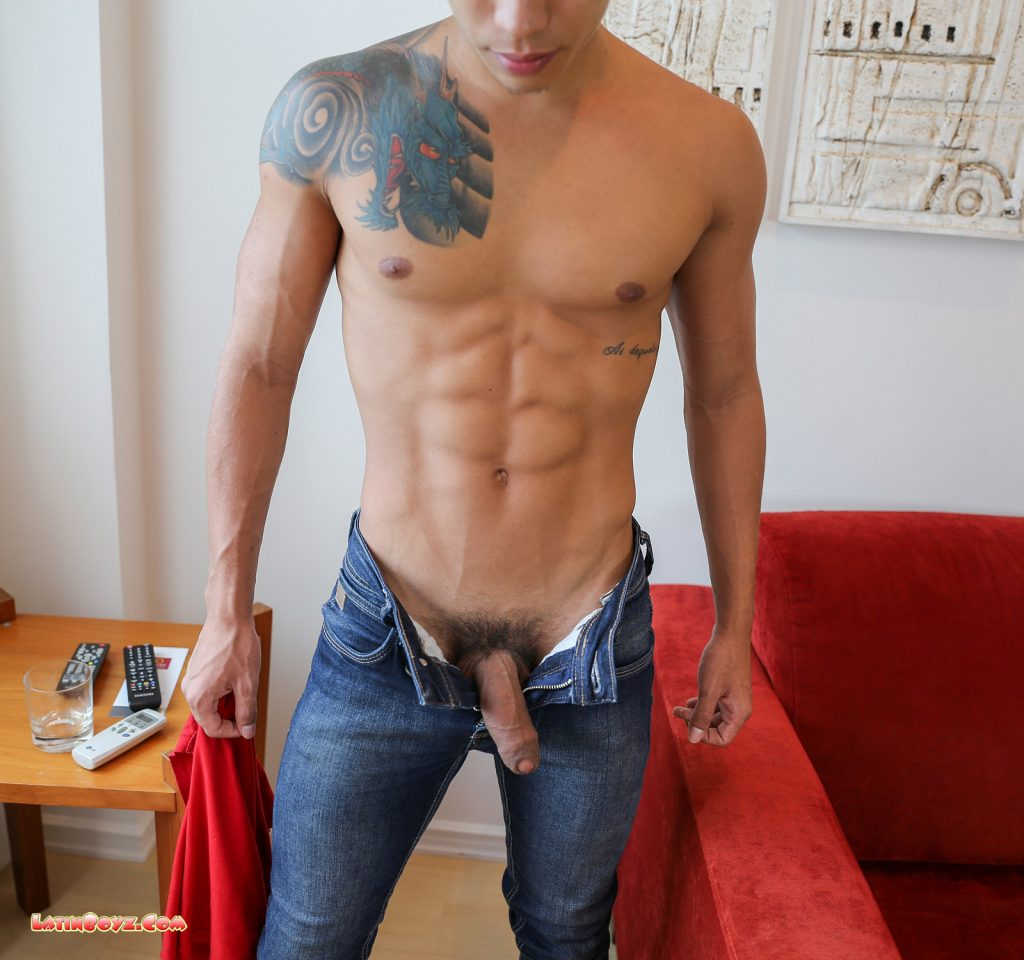 Sexy Naked Latin Men Dante - Male Latino Models-5297