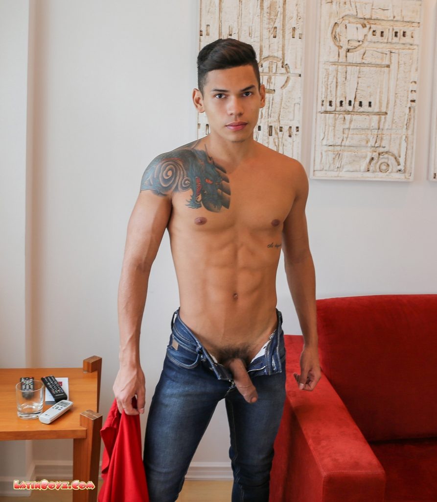 Sexy Naked Latin Men Dante - Male Latino Models-3931