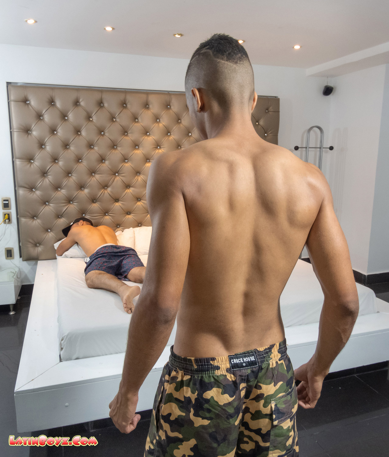 Juliano and Angelo are getting ready to fuck Latin sex bareback style